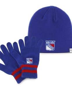 New York Rangers Team Player Set Royal 47 Brand YOUTH Hat