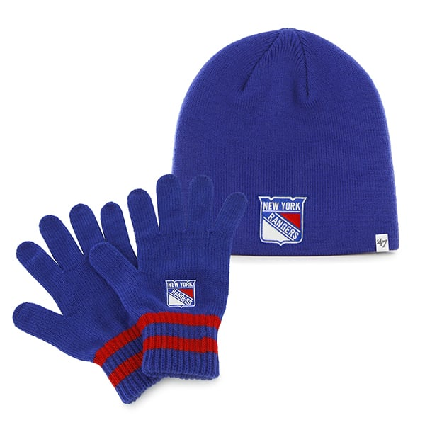 New York Rangers Team Player Set Royal 47 Brand YOUTH Hat