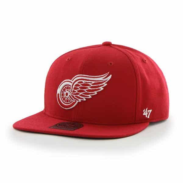 Detroit Red Wings The Shaft Red 47 Brand Adjustable Hat