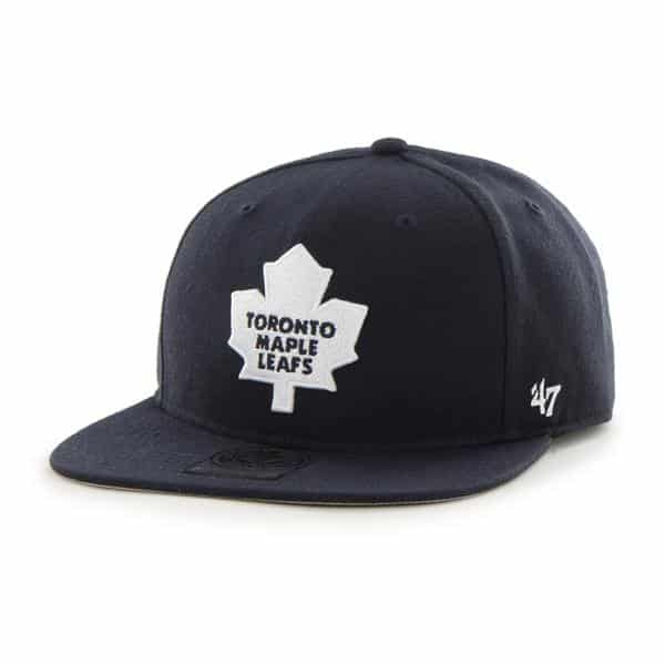 Toronto Maple Leafs The Shaft Navy 47 Brand Adjustable Hat