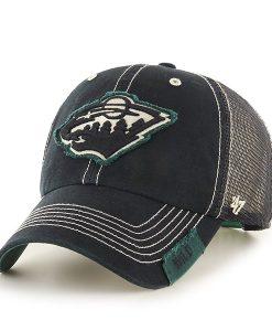 Minnesota Wild Turner Clean Up Black 47 Brand Adjustable Hat