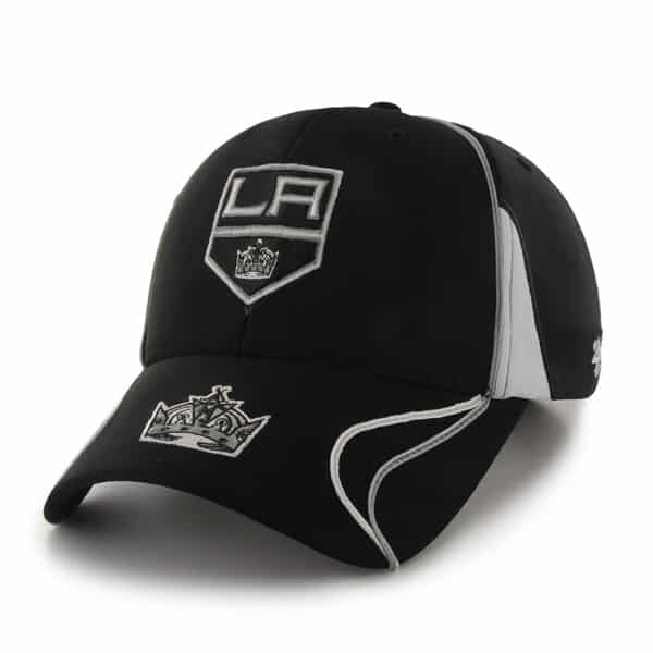 Los Angeles Kings Vortex Black 47 Brand Adjustable Hat