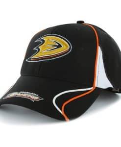 Anaheim Ducks Vortex Black 47 Brand Adjustable Hat