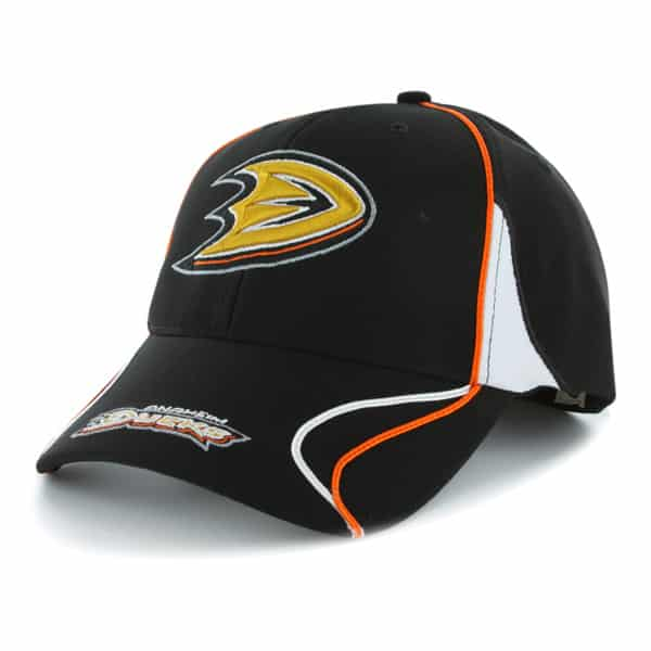 Anaheim Ducks Vortex Black 47 Brand Adjustable Hat