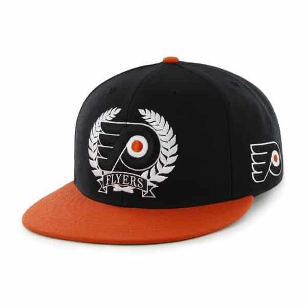 Philadelphia Flyers Winner'S Circle Black 47 Brand Adjustable Hat
