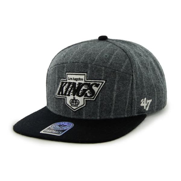 Los Angeles Kings Andreo Dark Gray 47 Brand Adjustable Hat
