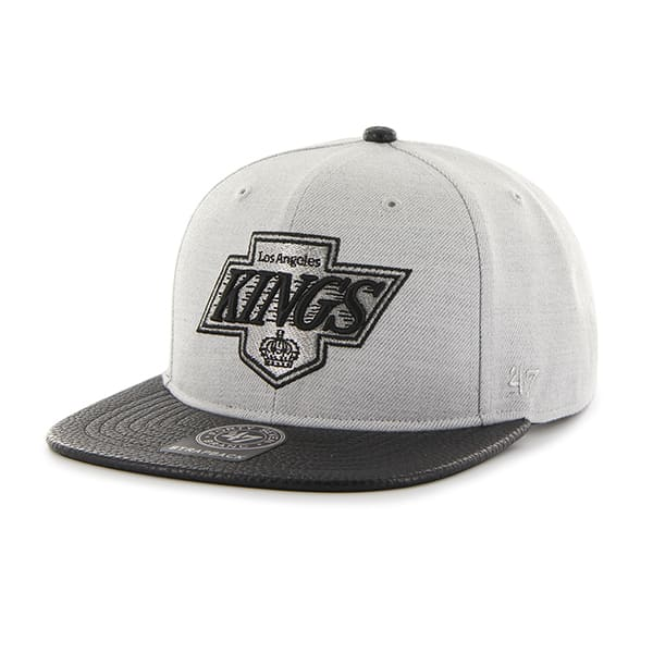 Los Angeles Kings Berendo Captain Gray 47 Brand Adjustable Hat