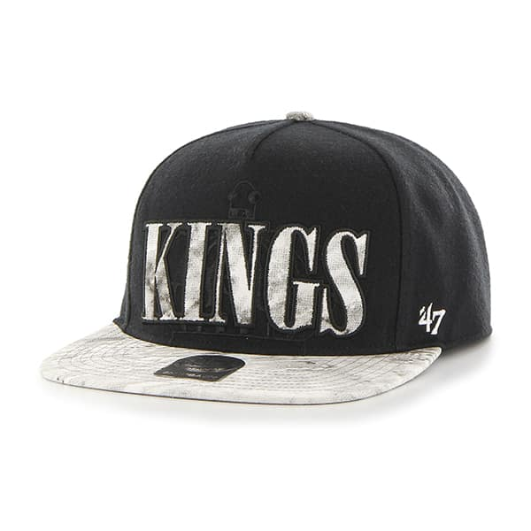 Los Angeles Kings Cherry Pit Captain Dt Black 47 Brand Adjustable Hat