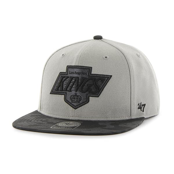 Los Angeles Kings Countershot Captain Gray 47 Brand Adjustable Hat
