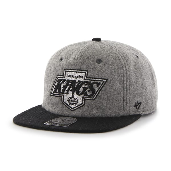 Los Angeles Kings Hempstead Captain Rf Gray 47 Brand Adjustable Hat