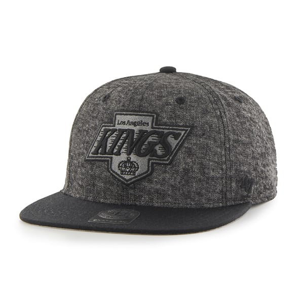 Los Angeles Kings Ledge Brook Captain Black 47 Brand Adjustable Hat