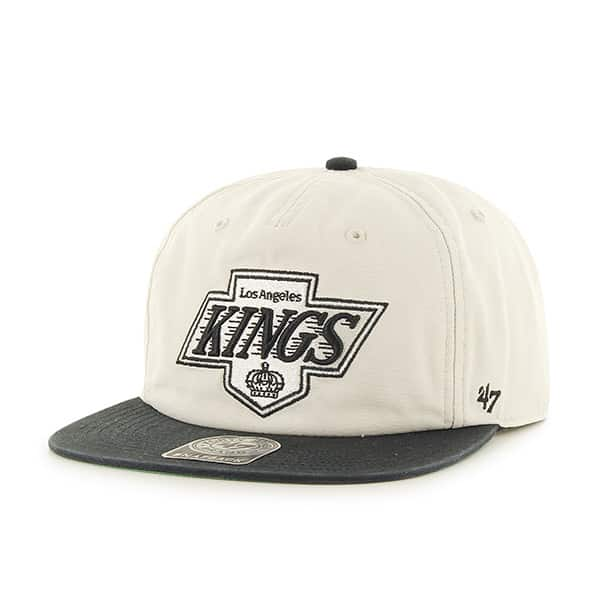 Los Angeles Kings Marvin Captain Rf Natural 47 Brand Adjustable Hat