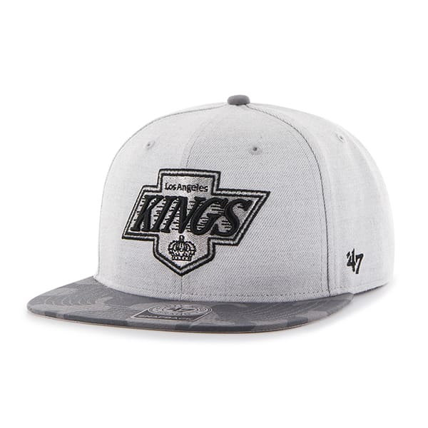 Los Angeles Kings Recon Camo Captain Gray 47 Brand Adjustable Hat