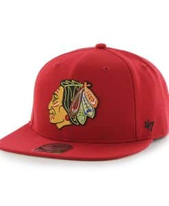 Chicago Blackhawks Sure Shot Red 47 Brand Adjustable Hat