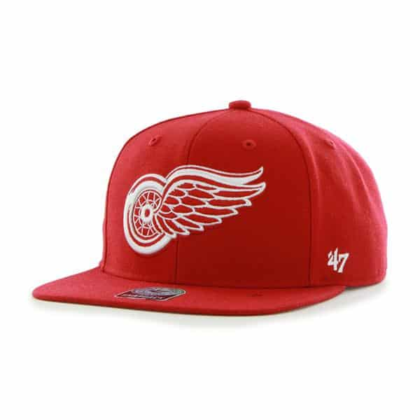 75b673cc4c5 Detroit Red Wings Sure Shot Red 47 Brand Adjustable Hat - Detroit Game Gear