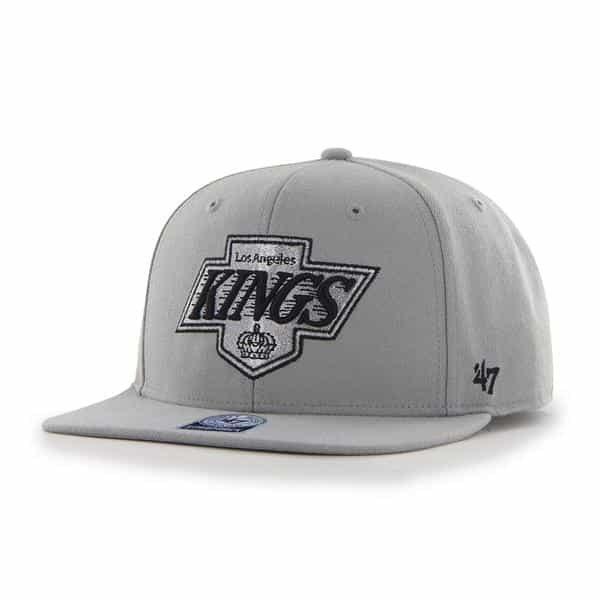 Los Angeles Kings Sure Shot Gray 47 Brand Adjustable Hat