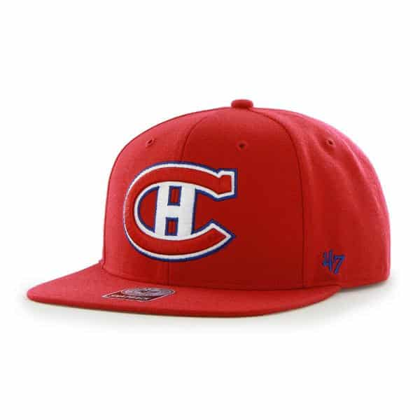Montreal Canadiens Sure Shot Red 47 Brand Adjustable Hat