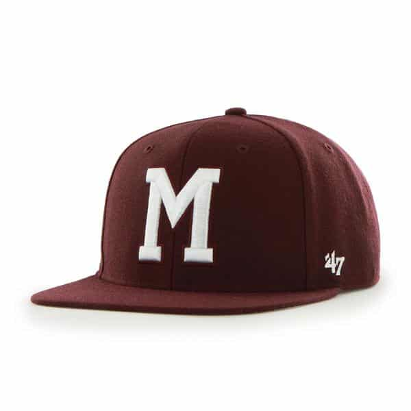 Montreal Maroons Sure Shot Dark Maroon 47 Brand Adjustable Hat