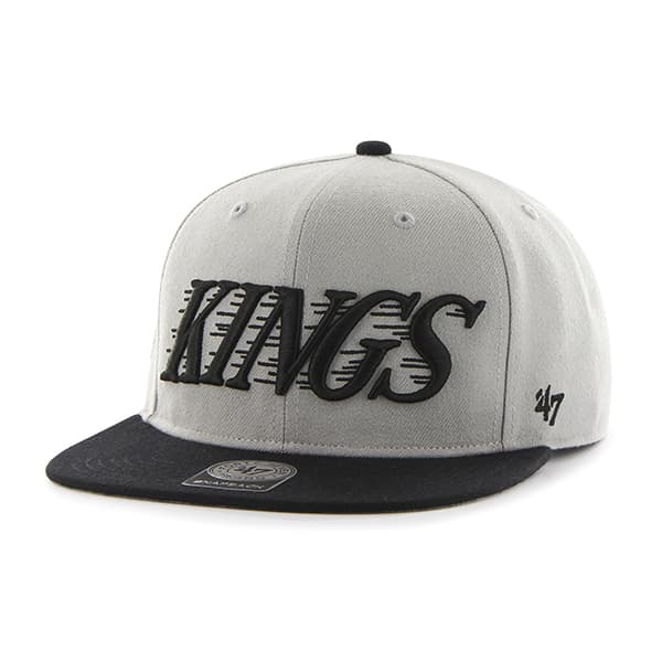 Los Angeles Kings Script Side Two Tone Captain Gray 47 Brand Adjustable Hat