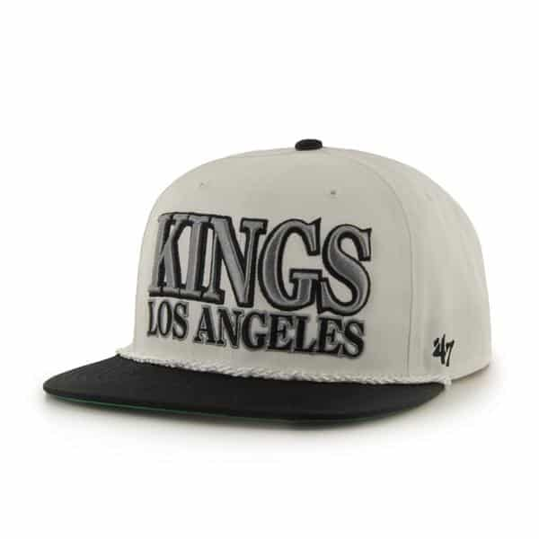 Los Angeles Kings Tasty Rope Two Tone White 47 Brand Adjustable Hat