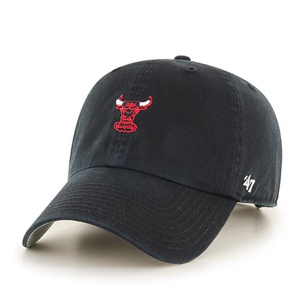 Chicago Bulls Abate Clean Up Black 47 Brand Adjustable Hat