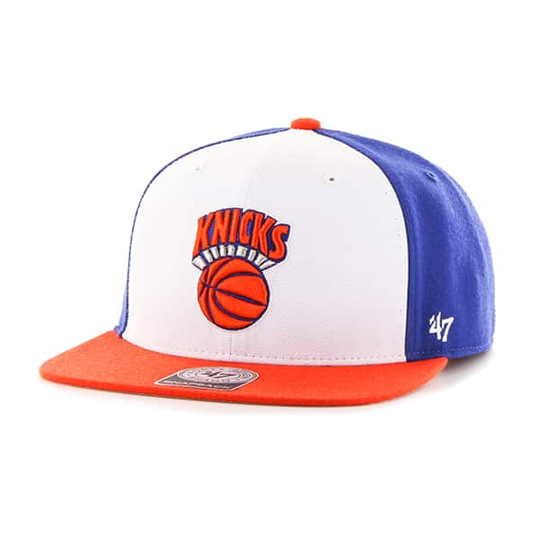 New York Knicks Amble Captain Orange 47 Brand Adjustable Hat