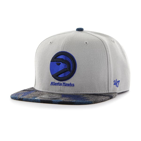 Atlanta Hawks Anteater Captain Gray 47 Brand Adjustable Hat