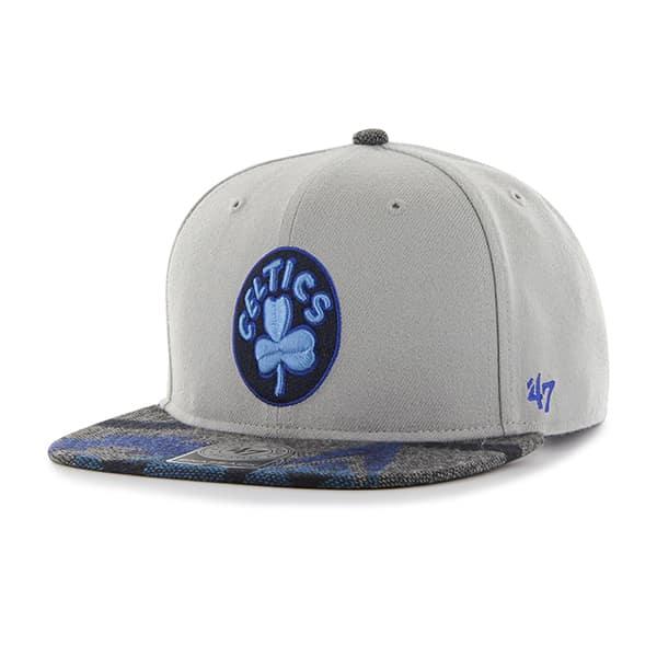 Boston Celtics Anteater Captain Gray 47 Brand Adjustable Hat