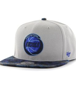 Houston Rockets Anteater Captain Gray 47 Brand Adjustable Hat
