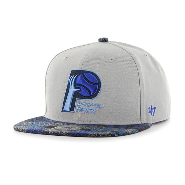 Indiana Pacers Anteater Captain Gray 47 Brand Adjustable Hat
