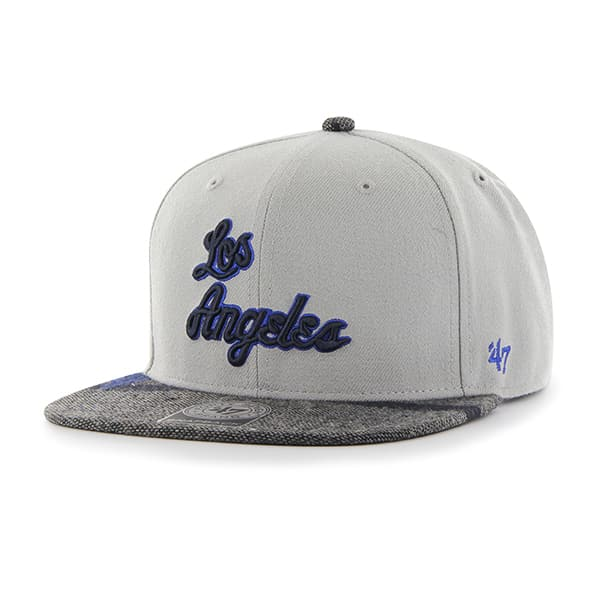 Los Angeles Lakers Anteater Captain Gray 47 Brand Adjustable Hat