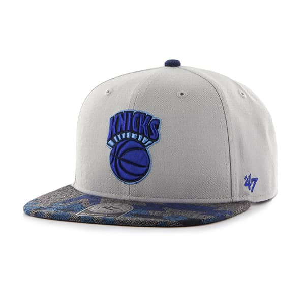 New York Knicks Anteater Captain Gray 47 Brand Adjustable Hat