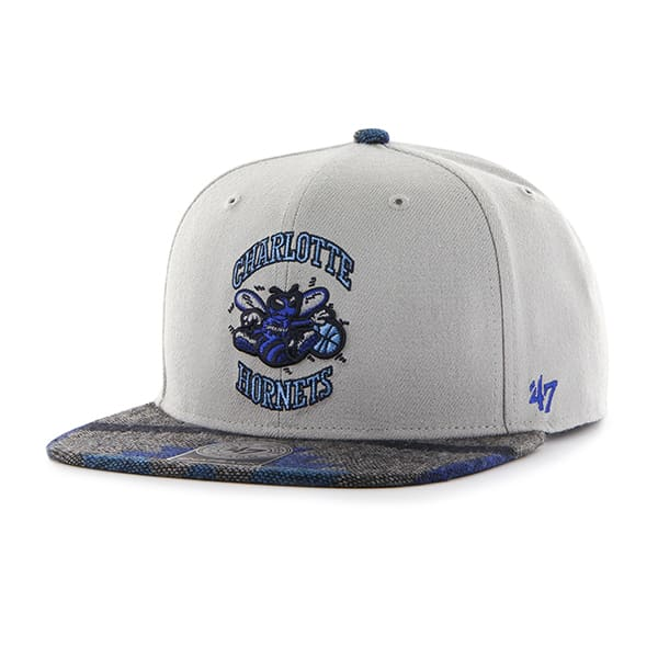 New Orleans Pelicans Anteater Captain Gray 47 Brand Adjustable Hat