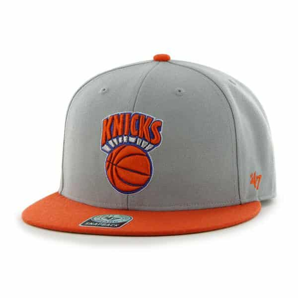 New York Knicks Big Shot Gray 47 Brand Adjustable Hat