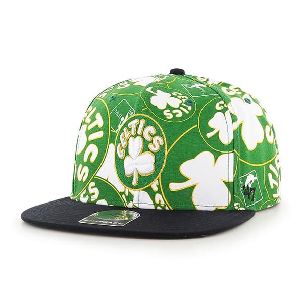 Boston Celtics Bravado Captain White 47 Brand Adjustable Hat