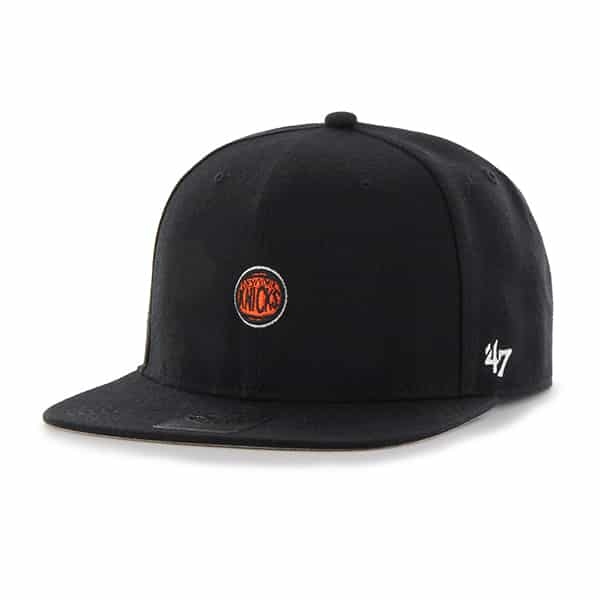 New York Knicks Centerfield Captain Black 47 Brand Adjustable Hat