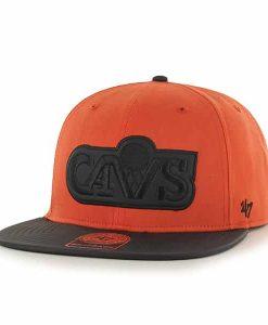 Cleveland Cavaliers Delancey Captain Orange 47 Brand YOUTH Hat