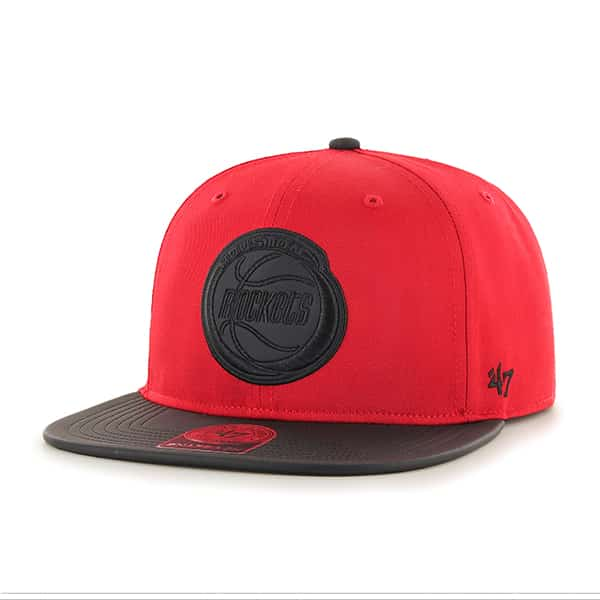 Houston Rockets Delancey Captain Red 47 Brand YOUTH Hat