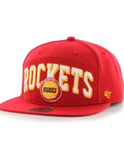 Houston Rockets Devoe Captain Sf Red 47 Brand Adjustable Hat