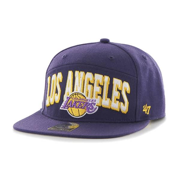 Los Angeles Lakers Devoe Captain Sf Purple 47 Brand Adjustable Hat