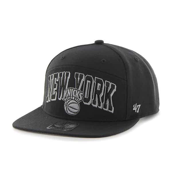 New York Knicks Devoe Captain Sf Black 47 Brand Adjustable Hat