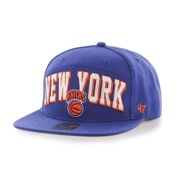 New York Knicks Devoe Captain Sf Royal 47 Brand Adjustable Hat