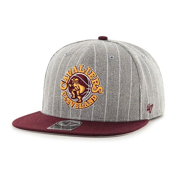 Cleveland Cavaliers Holbrook Captain Gray 47 Brand Adjustable Hat