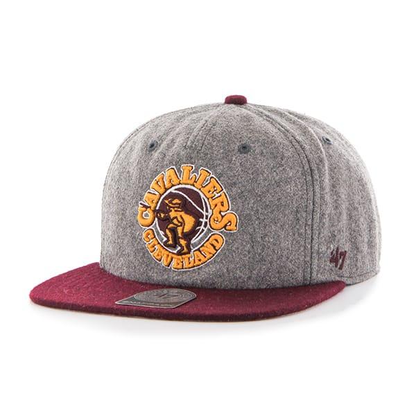 Cleveland Cavaliers Hempstead Captain Rf Gray 47 Brand Adjustable Hat