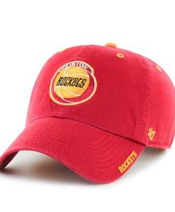 Houston Rockets Ice Red 47 Brand Adjustable Hat