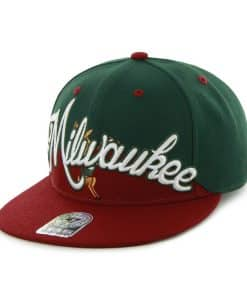Milwaukee Bucks Jenni Bigz Dark Green 47 Brand Adjustable Hat