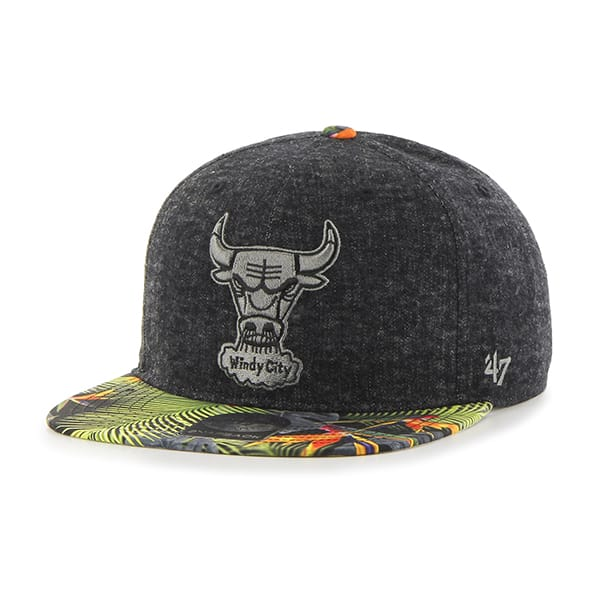 Chicago Bulls Miramar Captain Black 47 Brand Adjustable Hat