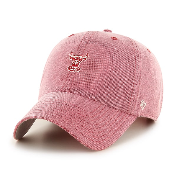 Chicago Bulls Monument Salute Clean Up Red 47 Brand Adjustable Hat