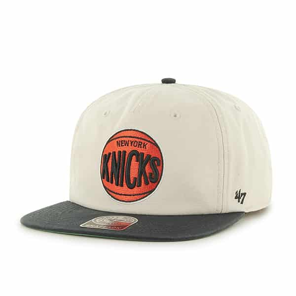 New York Knicks Marvin Captain Rf Natural 47 Brand Adjustable Hat