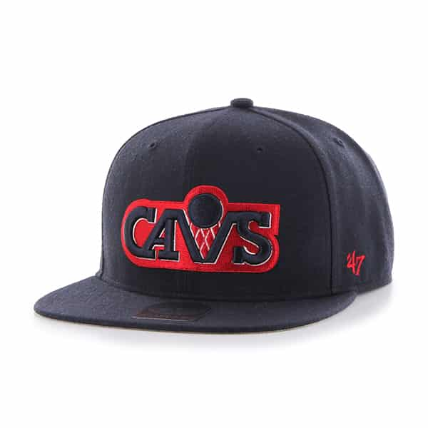 Cleveland Cavaliers No Shot Captain Navy 47 Brand Adjustable Hat
